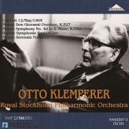 ベルリオーズ:幻想交響曲、モーツァルト:交響曲第40番、『ドン・ジョヴァンニ』序曲 オットー・クレンペラー&ストックホルム・フィル(1965年)(2CD)