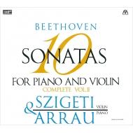 ヴァイオリン・ソナタ第6、7、8、9、10番 ヨゼフ・シゲティ、クラウディオ・アラウ(2CD)
