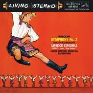 交響曲第2番(ボロディン)、スペイン奇想曲(コルサコフ):マルティノン指揮&ロンドン交響楽団 (高音質盤/200グラム重量盤レコード/Analogue Productions/*CL)