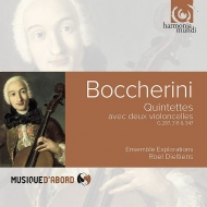 ボッケリーニ(1743-1805)/String Quintets: Dieltiens(Vc) Ensemble Explorations