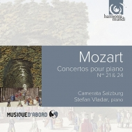 ピアノ協奏曲第21番、第24番 シュテファン・ヴラダー、カメラータ・ザルツブルク