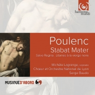 スターバト・マーテル、サルヴェ・レジーナ、黒い聖母像への連祷 セルジュ・ボド&リヨン国立管弦楽団、合唱団
