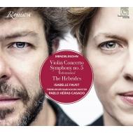 ヴァイオリン協奏曲、交響曲第5番『宗教改革』、フィンガルの洞窟 イザベル・ファウスト、パブロ・エラス=カサド&フライブルク・バロック・オーケストラ