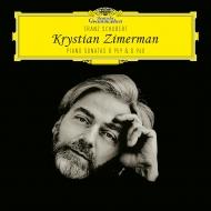 ピアノ・ソナタ第21番、第20番:クリスチャン・ツィメルマン(ピアノ)(2枚組アナログレコード/Deutsche Grammophon)