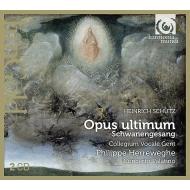 白鳥の歌(13のモテット) フィリップ・ヘレヴェッヘ&コレギウム・ヴォカーレ、コンチェルト・パラティーノ(2CD)