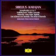 Symphonies Nos.4, 5, 6, 7, Violin Concerto, etc : Herbert von Karajan / Berlin Philharmonic, Ferras(Vn)(1960's)(2SACD)(Single Layer)