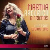 マルタ・アルゲリッチ&フレンズ/ライヴ・フロム・ルガーノ2016(3CD)
