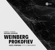 ヴァインベルグ:交響曲第5番、プロコフィエフ:交響曲第5番 ガブリエル・フムラ&シンフォニア・ユヴェントゥス(2CD)