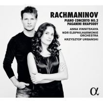 ピアノ協奏曲第2番、パガニーニの主題による狂詩曲 アンナ・ヴィニツカヤ、クシシュトフ・ウルバンスキ&北ドイツ放送エルプフィル