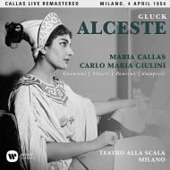 『アルチェステ』全曲 カルロ・マリア・ジュリーニ&スカラ座、マリア・カラス、ローランド・パネライ、他(1954 モノラル)(2CD)