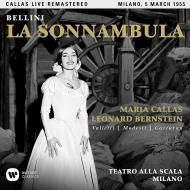 『夢遊病の娘』全曲 レナード・バーンスタイン&スカラ座、マリア・カラス、チェーザレ・ヴァレッティ、他(1955 モノラル)(2CD)