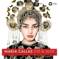 マリア・カラス/ライヴ&アライヴ (180グラム重量盤レコード/Warner Classics)