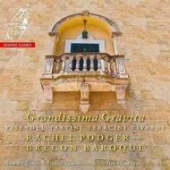 グランディッシマ・グラヴィタ〜18世紀のヴァイオリン・ソナタ集 レイチェル・ポッジャー、ブレコン・バロック