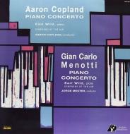 ピアノ協奏曲(コープランド)、ピアノ協奏曲(メノッティ):アール・ワイルド(ピアノ)、他 (180グラム重量盤レコード/Analogue Productions/*CL)