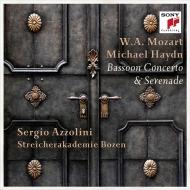 モーツァルト:ファゴット協奏曲、M.ハイドン:セレナード(アッツォリーニ再構成)、他 セルジオ・アッツォリーニ、ボーツェン弦楽アカデミー