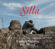 歌劇『シッラ』全曲 ファビオ・ビオンディ&エウローパ・ガランテ、ソニア・プリナ、ヴィヴィカ・ジュノー、他(2017 ステレオ)(2CD)