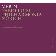 序曲、前奏曲、管弦楽曲集 ファビオ・ルイージ&フィルハーモニア・チューリッヒ(2CD)