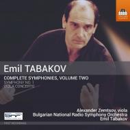 交響曲第1番、ヴィオラ協奏曲 エミル・タバコフ&ブルガリア国立放送交響楽団、アレクサンドル・ゼムツォフ