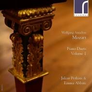 ピアノ・デュエット集 第1集 エンマ・アッバーテ、ジュリアン・パーキンス(フォルテピアノ)