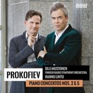 ピアノ協奏曲第2番、第5番 オリ・ムストネン、ハンヌ・リントゥ&フィンランド放送交響楽団