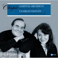 ピアノ協奏曲第1番、第2番:マルタ・アルゲリッチ(ピアノ)、シャルル・デュトワ指揮&モントリオール交響楽団 (2枚組/180グラム重量盤レコード/Warner Classics)