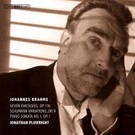 ピアノ・ソナタ第1番、幻想曲集、シューマンの主題による変奏曲 ジョナサン・プロウライト