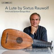 『シクストゥス・ラウヴォルフのリュート〜フランス、ドイツ・バロック作品集』 ヤコブ・リンドベルイ