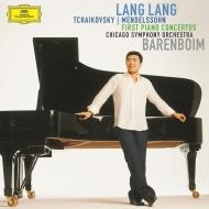 チャイコフスキー:ピアノ協奏曲第1番、メンデルスゾーン:ピアノ協奏曲第1番 ラン・ラン、ダニエル・バレンボイム&シカゴ交響楽団