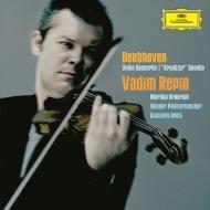 ヴァイオリン協奏曲、ヴァイオリン・ソナタ第9番『クロイツェル』 ヴァディム・レーピン、リッカルド・ムーティ&ウィーン・フィル、マルタ・アルゲリッチ(2CD)