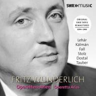フリッツ・ヴンダーリヒ オペレッタ・アリアを歌う〜SWR放送録音 1954-1965(2CD)