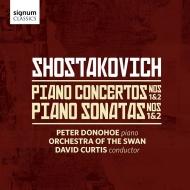 ピアノ協奏曲第1番、第2番、ピアノ・ソナタ第1番、第2番 ピーター・ドノホー、デイヴィッド・カーティス&オーケストラ・オブ・ザ・スワン