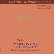 交響曲第5番、カレリア:アレクサンダー・ギブソン指揮&ロンドン交響楽団 (高音質盤/200グラム重量盤レコード/Analogue Productions/*CL)