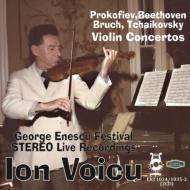 イオン・ヴォイク ヴァイオリン協奏曲ライヴ集〜プロコフィエフ、ベートーヴェン、チャイコフスキー、ブルッフ(2CD)