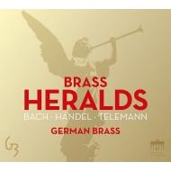 『ブラスの使者たち〜バッハ、ヘンデル、テレマン、他』 ジャーマン・ブラス(2CD)