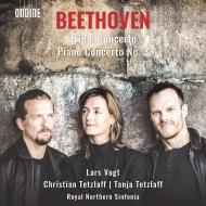 ピアノ協奏曲第3番、三重協奏曲 ラルス・フォークト&ノーザン・シンフォニア、クリスティアン・テツラフ、ターニャ・テツラフ