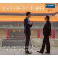 エルガー:チェロ協奏曲、シューマン:チェロ協奏曲、コルンゴルト:チェロ協奏曲 ウェン=シン・ヤン、リュウ・シャオチャ&台湾フィル