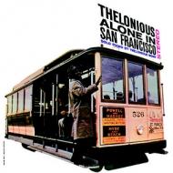 Monk Alone In San Francisco
