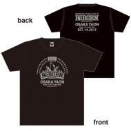 限定Tシャツ(ブラック×グレー)S