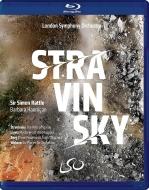 ストラヴィンスキー:春の祭典、リゲティ:マカーブルの秘密、ヴェーベルン:6つの小品、他 サイモン・ラトル&ロンドン交響楽団、バーバラ・ハンニガン(+DVD)