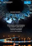 『ワルキューレ』全曲 ネミロヴァ演出、ティーレマン&シュターツカペレ・ドレスデン、ザイフェルト、ハルテロス、他(2017 ステレオ 日本語字幕付)(2DVD)