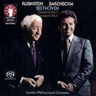 ピアノ協奏曲第3番、第4番 アルトゥール・ルービンシュタイン、ダニエル・バレンボイム&ロンドン・フィル