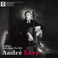 無伴奏チェロ組曲 第2番、第6番:アンドレ・レヴィ(チェロ)(モノラル/180グラム重量盤レコード/Spectrum Sound)