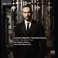 ドビュッシー:交響詩『海』、ラヴェル:『マ・メール・ロア』全曲 アントネッロ・マナコルダ&アーネム・フィル