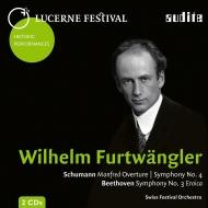 ベートーヴェン:交響曲第3番『英雄』、シューマン:交響曲第4番、『マンフレッド』序曲 ヴィルヘルム・フルトヴェングラー&ルツェルン祝祭管弦楽団(1953)(2CD)