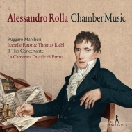 Chamber Works: Marchesi I.faust(Vn)Rieble(Va)Il Trio Concertante La Camerata Ducale Etc