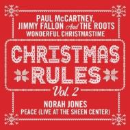 Christmas Rules Vol.2 (Paul McCartney / Norah Jones) (レッド・ヴァイナル仕様/7インチシングルレコード)