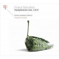 交響曲第5番、第2番 フィリップ・ヘレヴェッヘ&アントワープ交響楽団