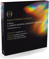 交響曲全集 ラファエル・フリューベック・デ・ブルゴス&デンマーク国立交響楽団(+ベルリオーズ:幻想交響曲、R.シュトラウス:アルプス交響曲、他)(3BD)