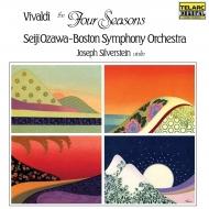 四季:ジョゼフ・シルヴァースタイン(ヴァイオリン)、小澤征爾 指揮&ボストン交響楽団 (アナログレコード/Telarc Classics)