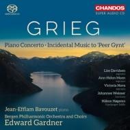 ピアノ協奏曲、劇音楽『ペール・ギュント』より ジャン=エフラム・バヴゼ、エドワード・ガードナー&ベルゲン・フィル
